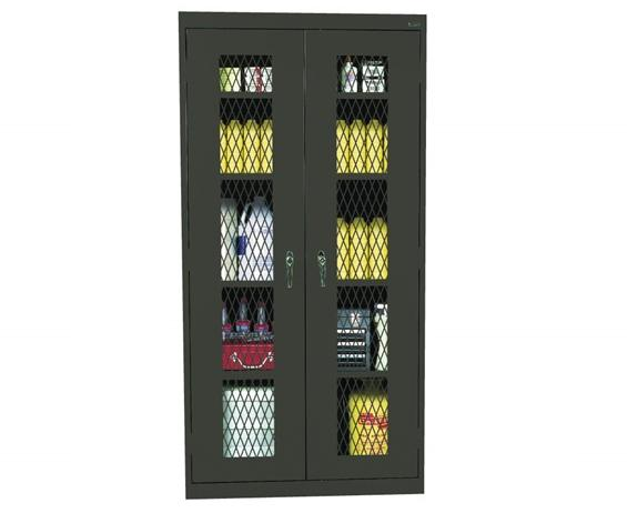 EXPANDED METAL FRONT CABINET