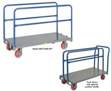 ADDITIONAL UPRIGHTS & PUSHBAR HANDLES FOR ADJUSTABLE SHEET & PANEL TRUCKS